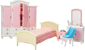 Irra Bay Dollhouse Furniture (Bed Room & Wardrobe)