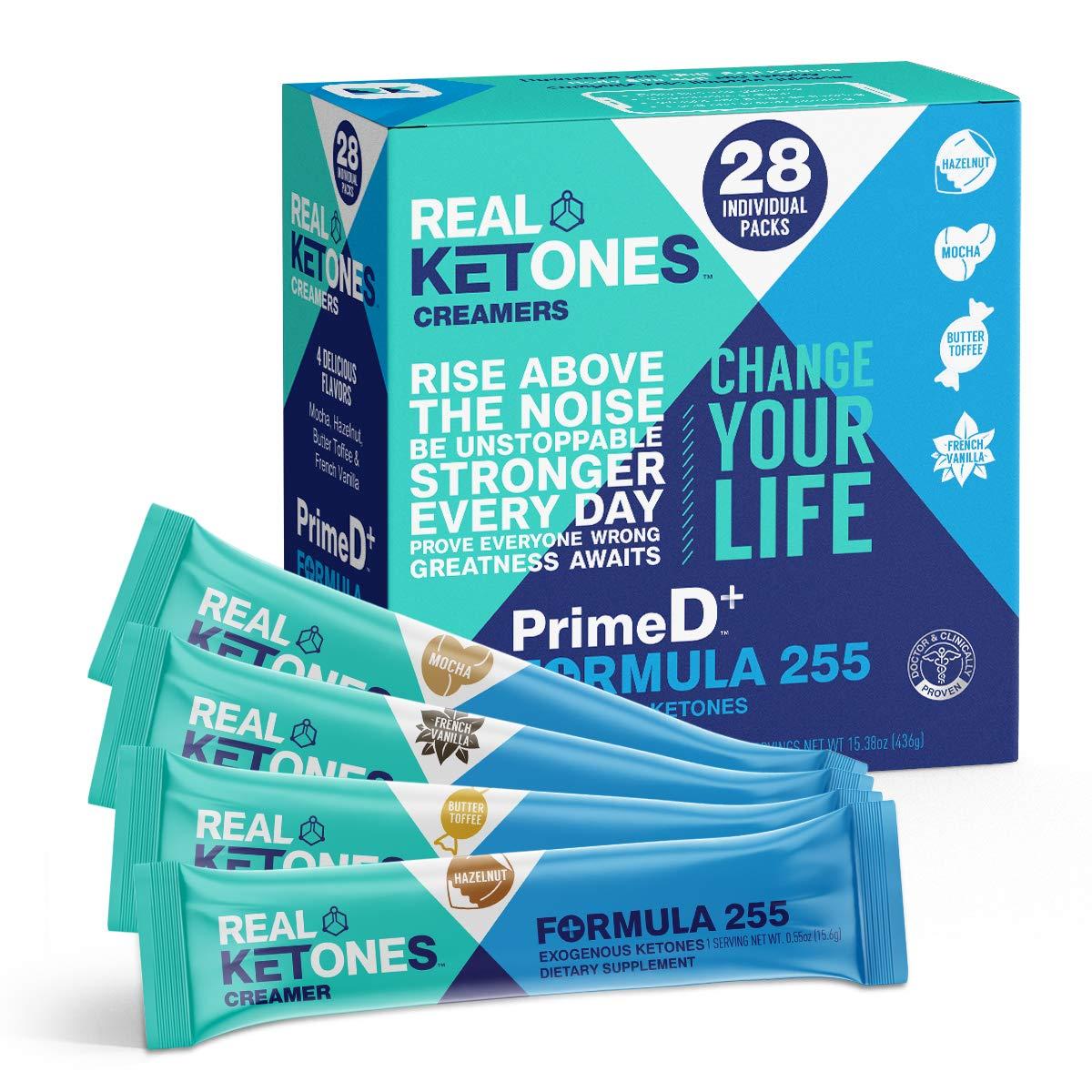 Real Ketones - Keto Coffee Creamer on-the-go keto coffee mix by Real Ketones