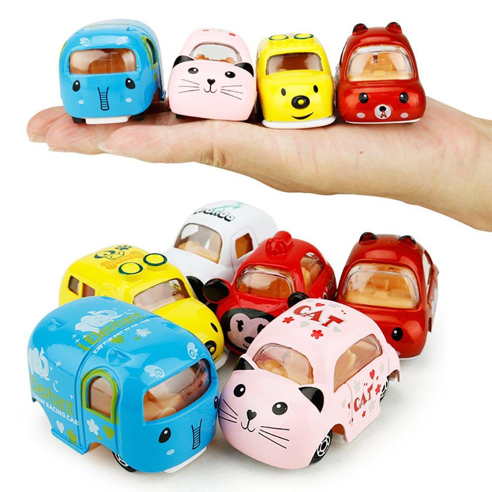 Push & Pull Spielzeug, Zurückziehen Auto, 6 Mini Alloy Fahrzeuge ...