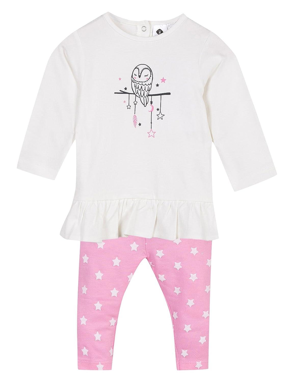 Z Baby mädchen Bekleidungsset Ensemble T-Shirt Et Legging Rose 1K36045