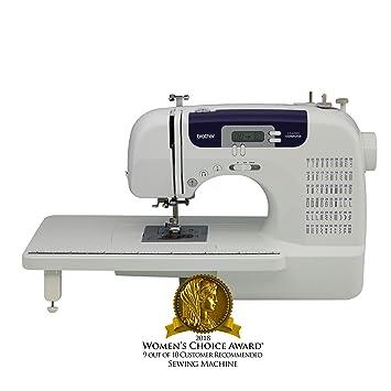 Brother CS-6000i Eléctrico - Máquina de coser (Blanco, Costura, 1 paso, LED, Botones, 850 RPM): Amazon.es: Hogar