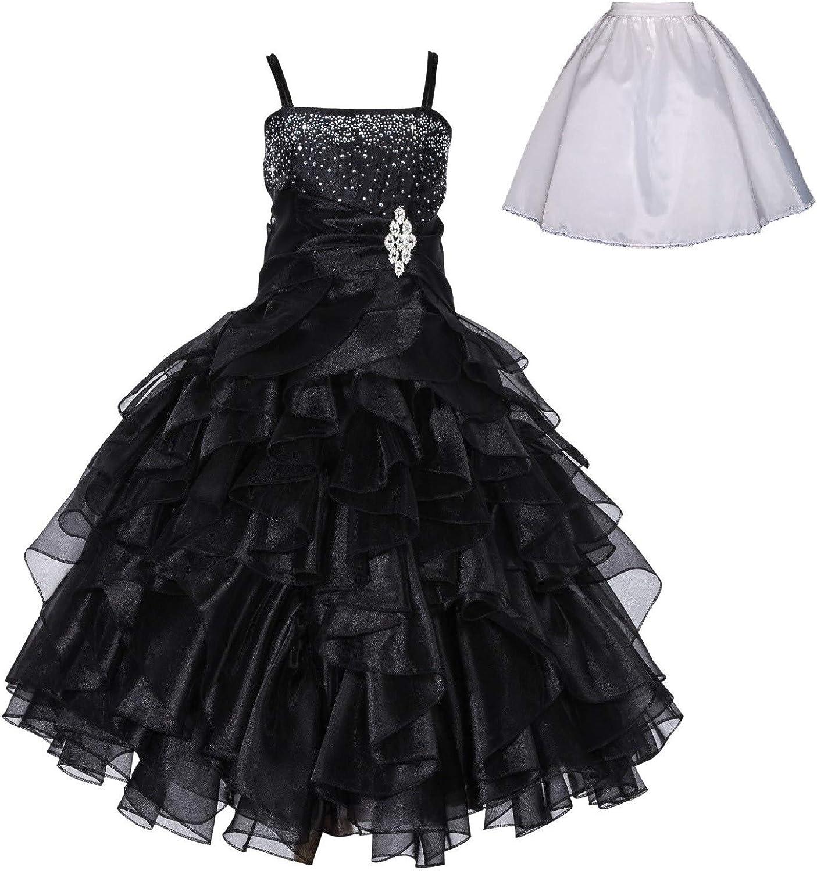 Amazon.com: Vestido de organdí para niña ...