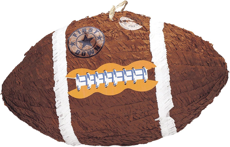 Amscan – p14480 Piñatas juguete de fútbol americano: Amazon.es ...