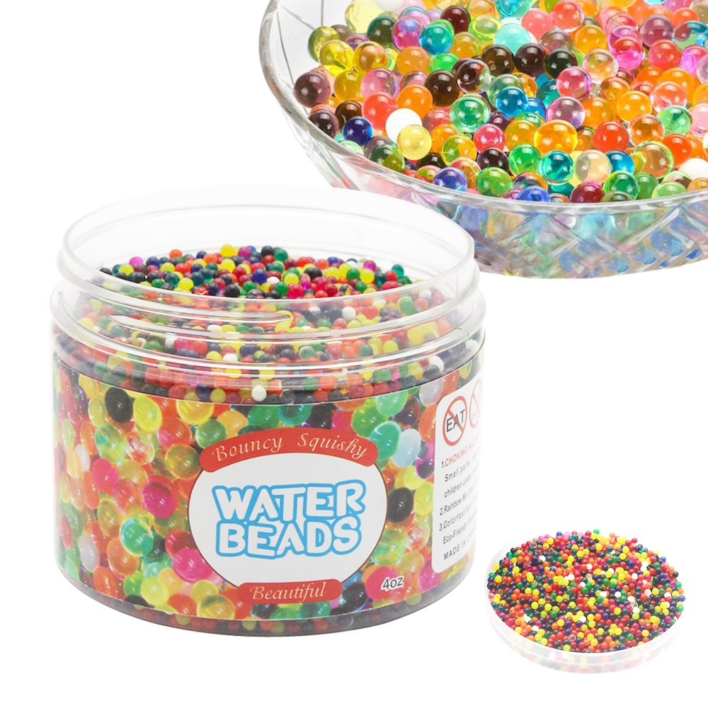 Southwest trading Inc Water Beads Rainbow Mix Growing Jelly Balls for Kids Tactile Sensory Toys (Style 1)