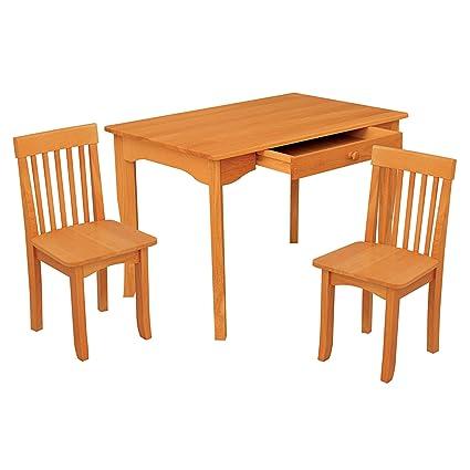 Tremendous Kidkraft Avalon Table And Chair Set Honey Ncnpc Chair Design For Home Ncnpcorg