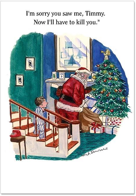 Amazon.com: I m Sorry Timmy Navidad Tarjeta de broma ...