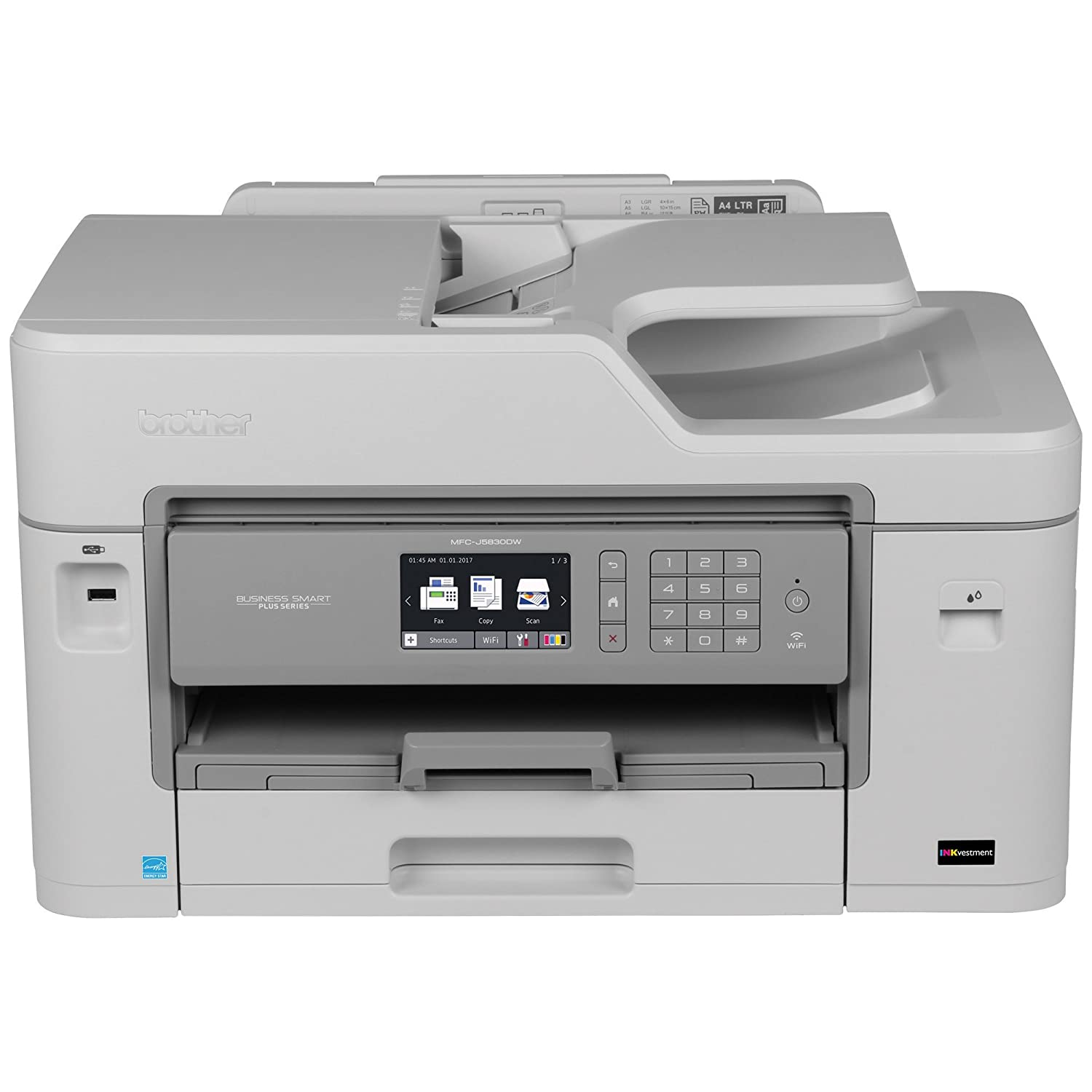 Brother MFCJ5830DW Wireless Color Photo Printer with Copier & Fax Brother Canada - CE