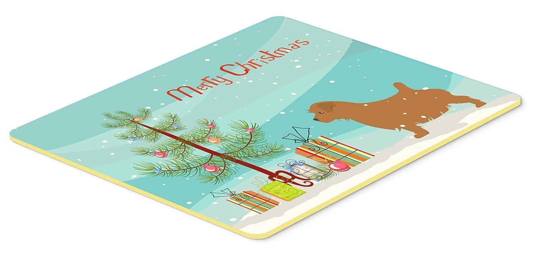 Caroline 's Treasures Norfolk Terrier Merryクリスマスツリーキッチンやバスマット20 x 30 bb2927cmt、20hx30 W、マルチカラー   B01LYERB2R
