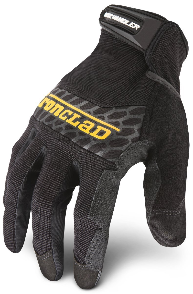 Ironclad Box Handler Work Gloves BHG, Extreme Grip, Performance Fit, Durable, Machine Washable, Sized S, M, L, XL, XXL (1 Pair)
