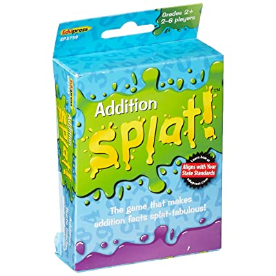 Edupress Splat Game, Addition (EP63759): Office Products
