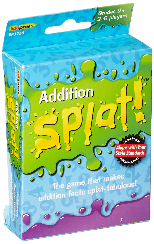 Edupress Splat Game, Addition (EP63759)