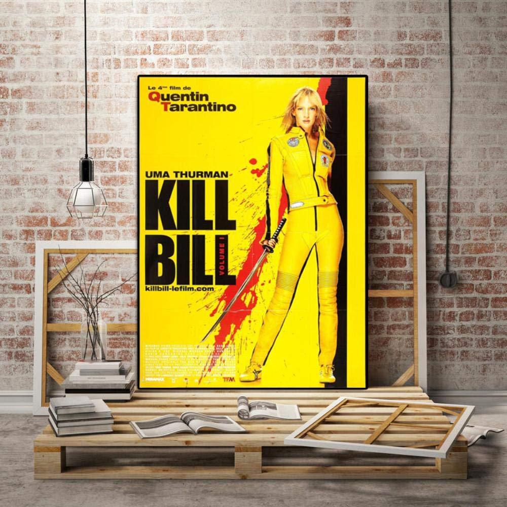 KILL BILL TARANTINO MOVIE CANVAS PRINT PICTURE WALL ART FREE VARIETY OF SIZES
