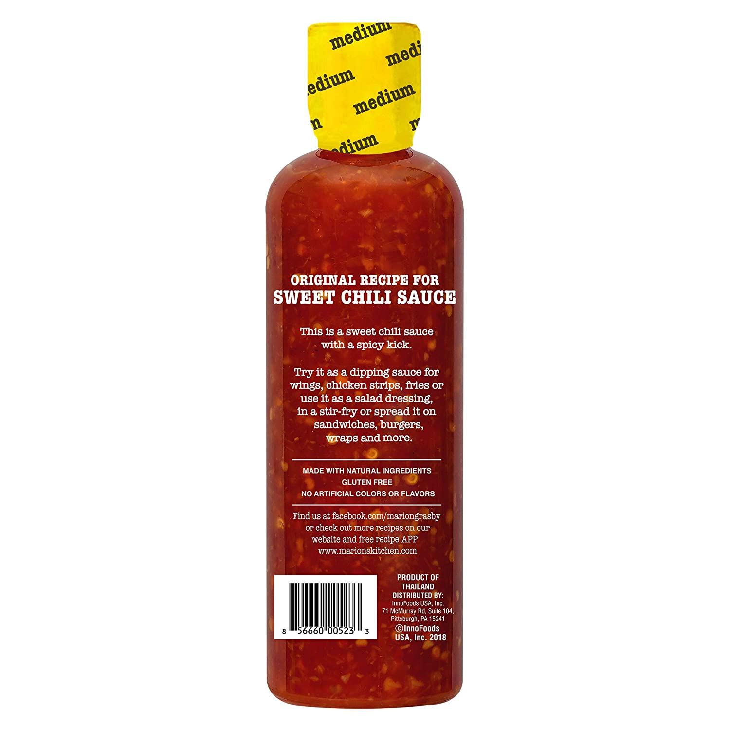 Marion S Kitchen Sweet Chili Sauce 6 Pack 14 Oz