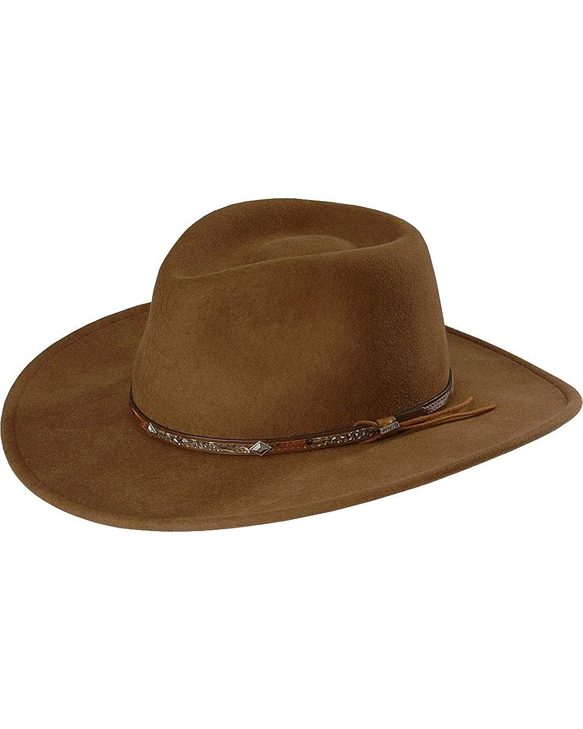 cb8085f1639 Stetson SWMTSK-8132 Mountain Sky Hat at Amazon Men s Clothing store