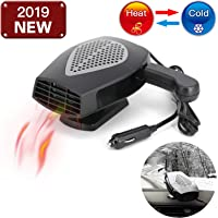 $27 » 12V Portable Car Heater or Fan - Cooling Car Space & Fast Heating Defrost Defogger Space…