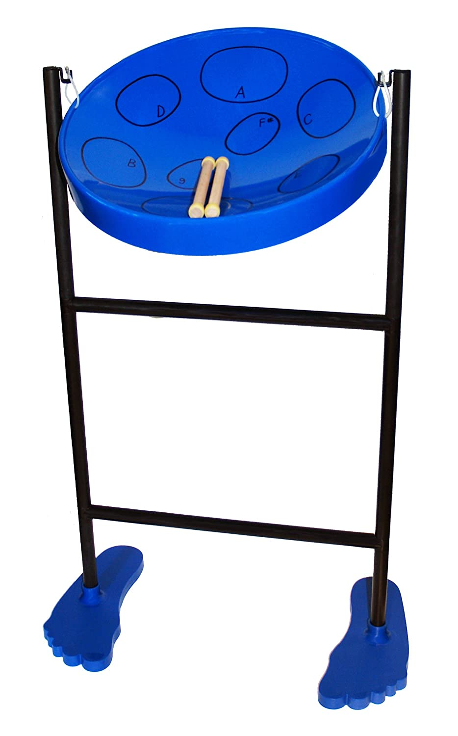 Jumbie Jam Steel Drum Musical Instrument, Blue Panyard Inc. W1058