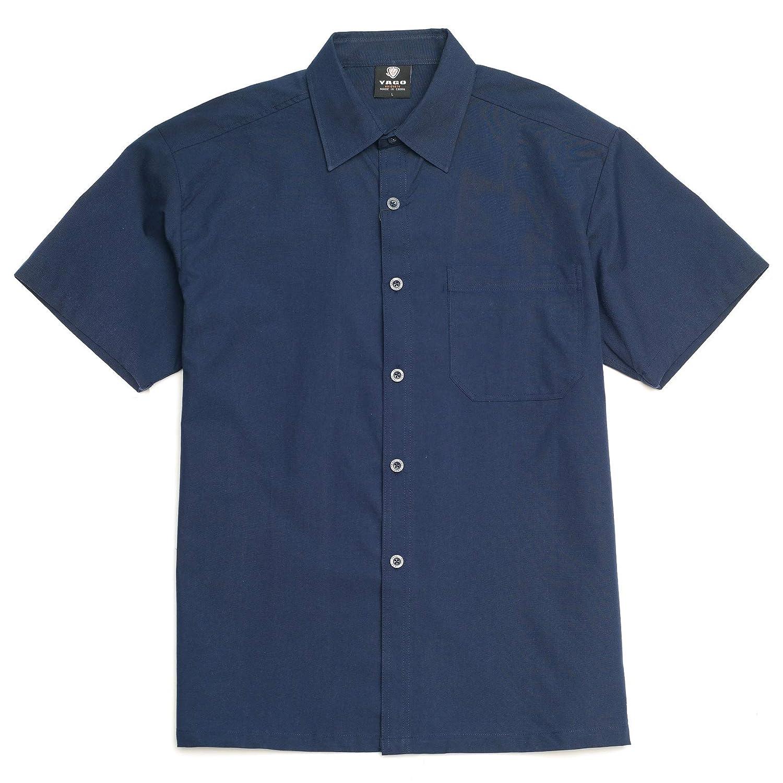 YAGO Men/'s Casual Button Down Cotton Shirts