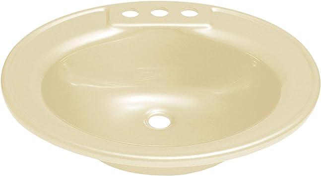 Lasalle Bristol 16 270PW 16 x 20 White Oval Sink