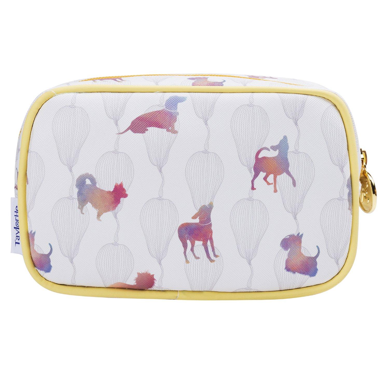 TaylorHe Make-up Bag impermeable Bolsa de maquillaje Bolsas de aseo Bolsa para lavar estuche de l/ápices caballos