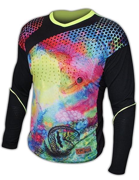 9c92bb931 Amazon.com : Rinat Geko Goalkeeper Jersey (YS) : Sports & Outdoors