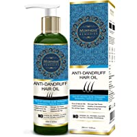 Morpheme Remedies Anti-Dandruff Hair Oil (Castor, Olive, Rosemary, Bhringraj, Neem & Tea Tree) 120ml