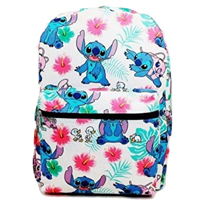 "1 PC. Stitch 16"" Large Backpack"