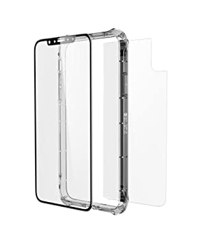 separation shoes fe310 d47ee ZAGG InvisibleShield Glass+ Contour 360 Full Body Screen Protector for  iPhone X - Clear