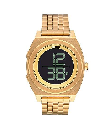 NIXON Reloj Unisex de Digital con Correa en Acero Inoxidable A948502: Amazon.es: Relojes