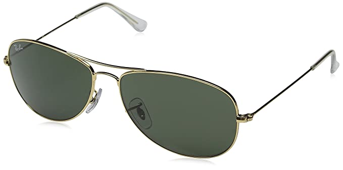 Ray-Ban Cockpit Sunglasses Arista Crystal Green, One Size 64d2b05b04
