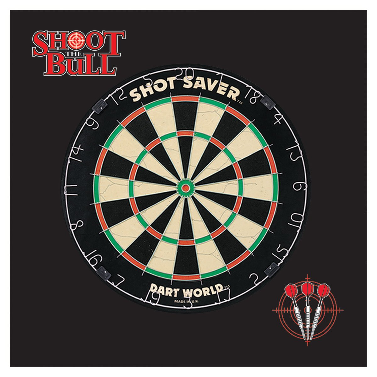 Dart World Wall Protector