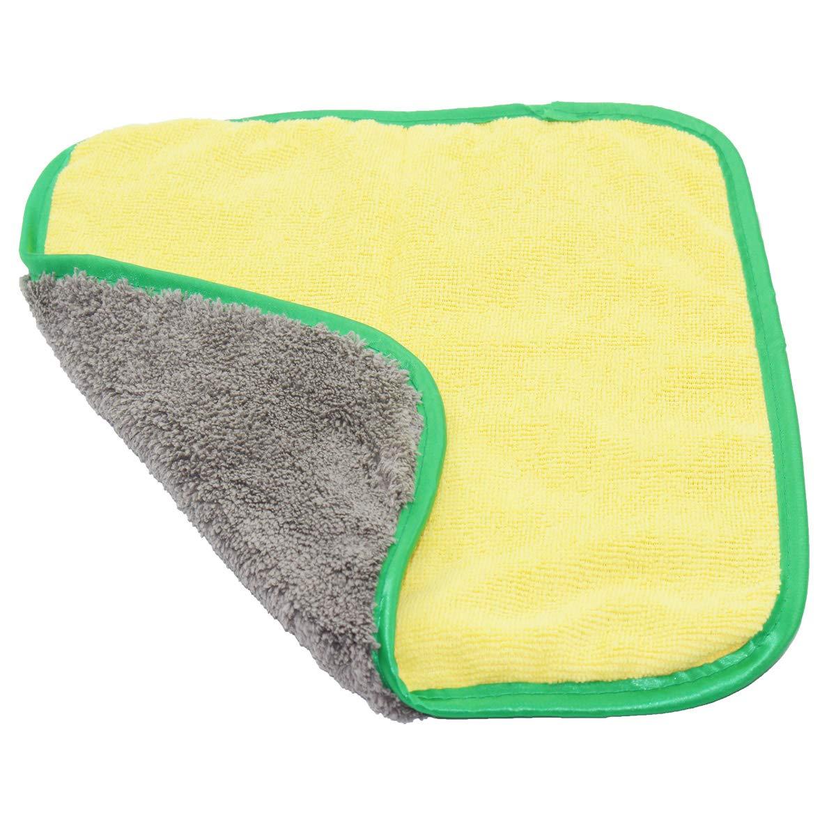 Double-face Coral Velvet Microfibre Car Wash Lavage Serviette automatique Chiffons Polish /épaissie Absorbent Nettoyage serviette Republe