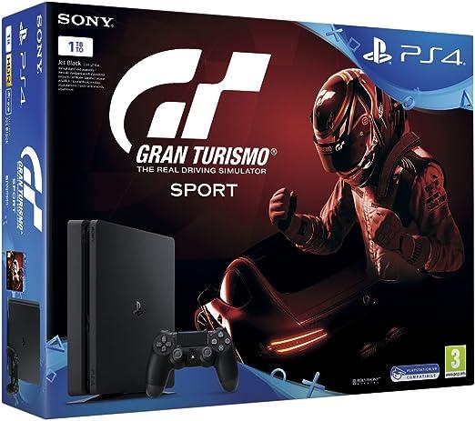 PlayStation 4 (PS4) - Consola De 1 TB + GT: Amazon.es: Videojuegos