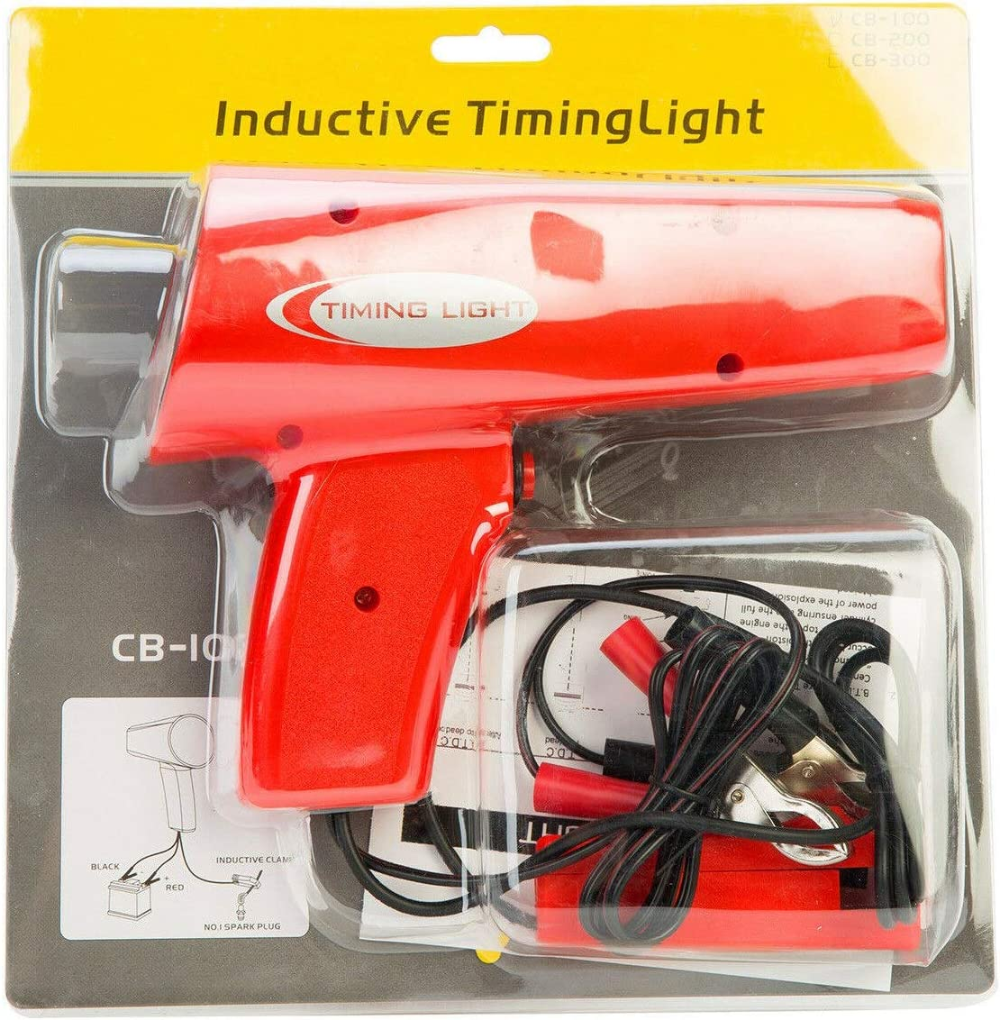 Monland Motor Z/ündung Induktives Timing Licht Fahrzeug Lampe Strobe Tester Z/ündung Strobe Timing Lampe//Licht Freier Stecker Tester