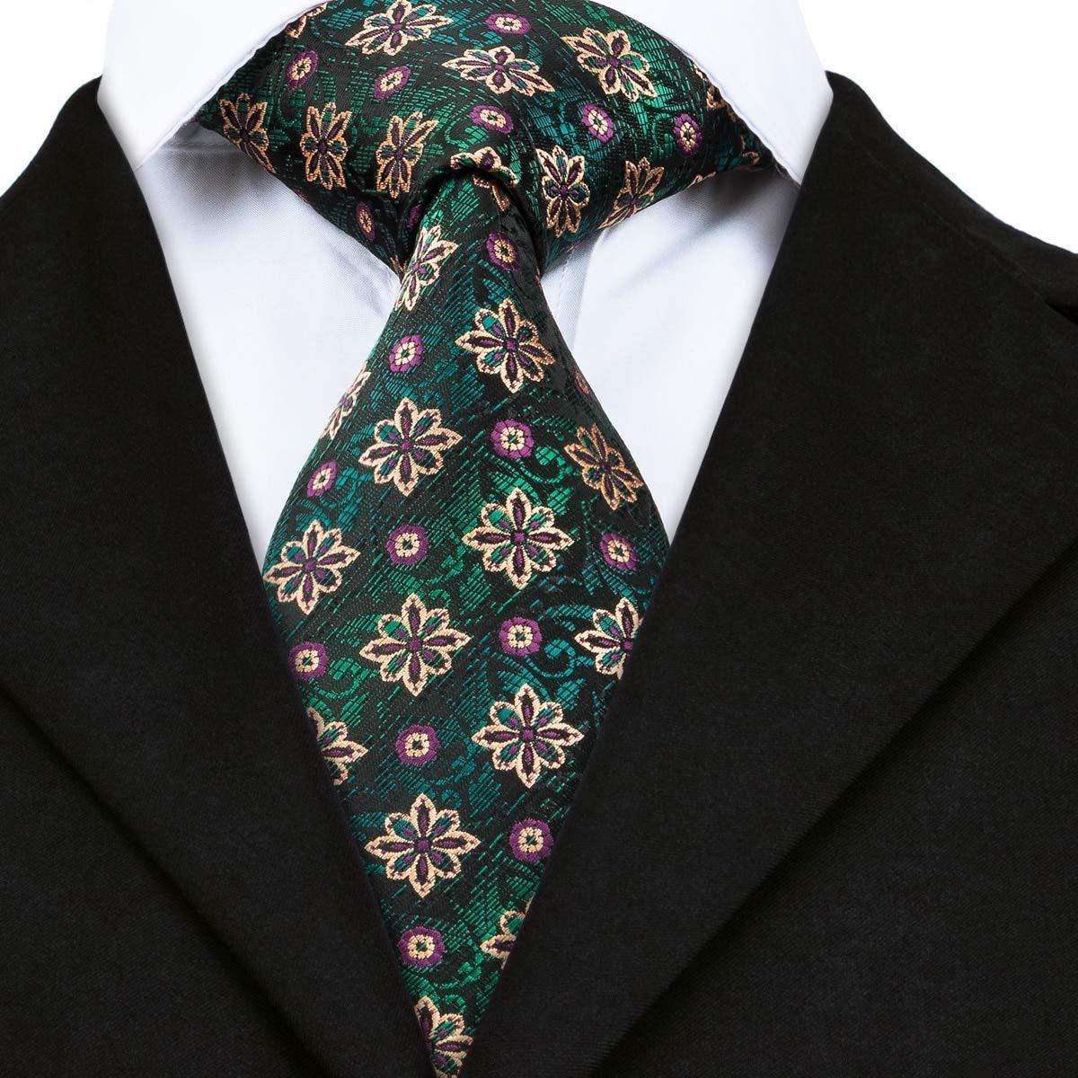 IG Corbata de moda Sn-1666 Corbatas tejidas verdes para hombres ...