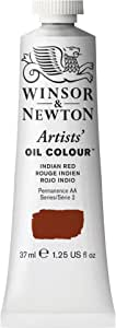 Winsor & Newton , Indian Red Artists' Oil Colour Paint, 37ml Tube, 37-ml