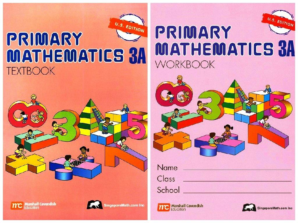 Primary Mathematics 3A SET--Textbook and Workbook pdf epub