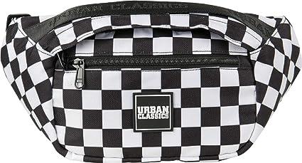 Urban Classics Top Handle Shoulder Bag Borsa a tracolla, 33 cm, BlackWhite (Multicolore) TB2550