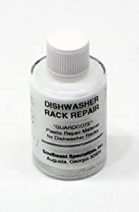 (RB) Dishwasher Rack Patch Repair Paint White