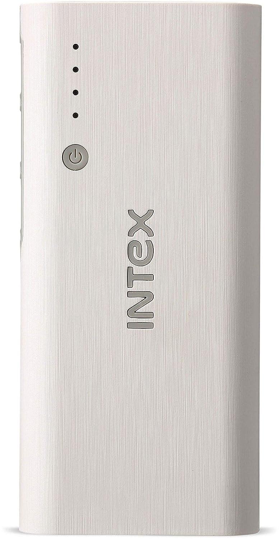Intex IT-PB12.5K 12500mAH Power Bank (White-Grey)