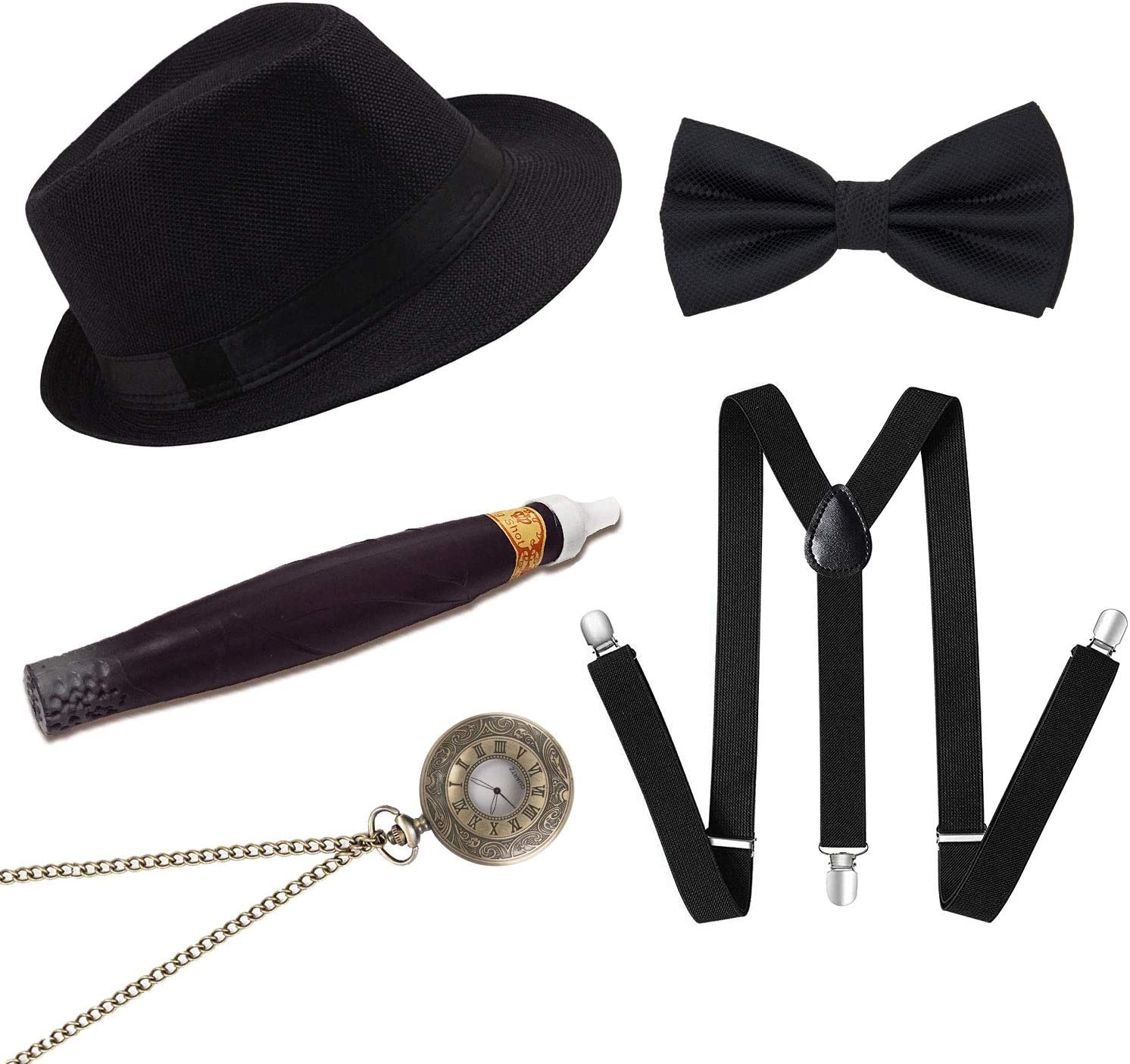 Conjunto de Accesorios para el Disfraz de gángster Masculino ...
