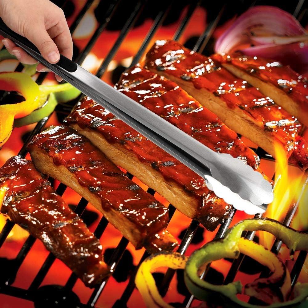 Outils De Cuisson Outils De Cuisson Pinces /À Barbecue Pinces /À Barbecue En Acier Inoxydable Pour Barbecue Outils De Cuisine Multifonctions