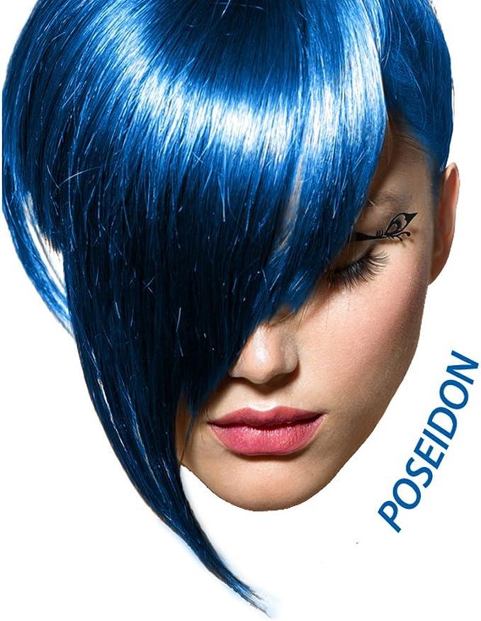 ARCTIC FOX 100% vegano semisimente colorante para cabello (4 onzas, Poseidón)