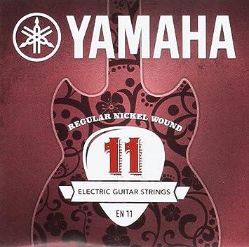 Yamaha EN11 - Juego de cuerdas para guitarra eléctrica: Amazon.es: Instrumentos musicales