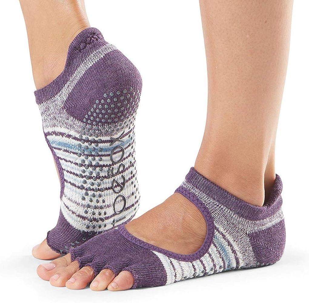 Unisex Adulto Toesox Half Toe Bellarina Calcetines de Yoga