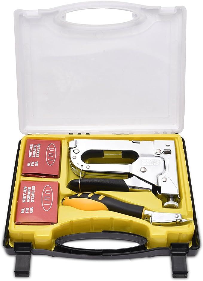 clous et d/égrafeuse Mannesmann 48440 Set agrafeuse manuelle Avec agrafes Import Allemagne