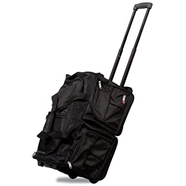 Hipack 20-inch Carry-on Rolling Duffle Bag Duffel Bag ab86633f4a1d5