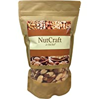 Brazil Nuts - Whole, Shelled, Raw, Natural - healthy source of Selenium (1 Pound)
