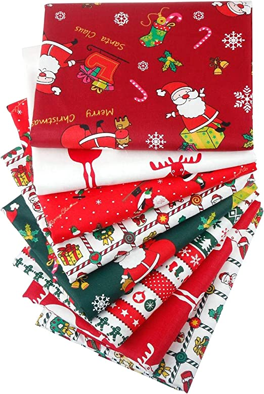 Christmas quilting cotton