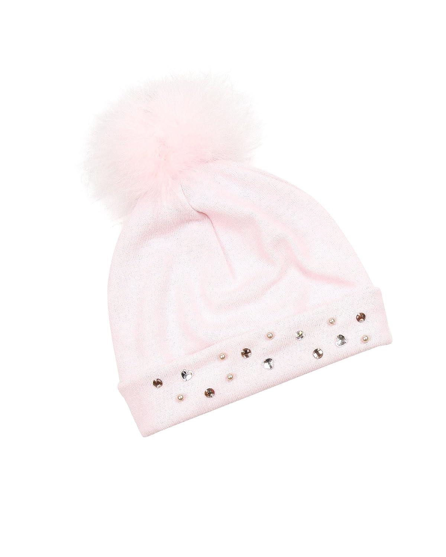 4-7 Kate Mack Girls Moonlight Swan Tuck Hat Sizes 4-16