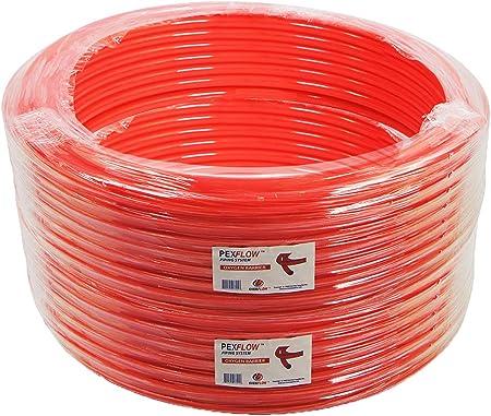 "3//4/"" 300ft PEX Tubing//Pipe O2 Oxygen Barrier EVOH Durable Orange Leak-Proof"